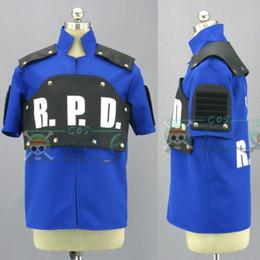 $enCountryForm.capitalKeyWord NZ - Hot! resident Evil:deterioration Lyon Police uniform cosplay costume