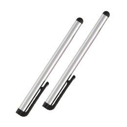 4.7 Capacitive Australia - 2 PCS Stylus Capacitive Fine Point Screen Touch Pen For iPad Air 2 3 4 For iPhone 5 5s 6s 6plus iPhone 7 Tablet Laptop Quality