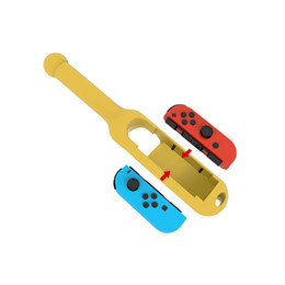 Discount game joy - hot sale For Nintend Switch NS JOY-CON Controller Game Playing Drumstick Drum Stick Kinect Hand Grip Holder Handle Contr