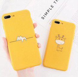 Phone giraffe online shopping - Funny Cartoon Giraffe Phone Case For iPhone Plus TPU Silicone Back Cover for iPhone X XR XS Max S Plus Soft Cases