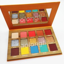 China Makeup Face beauty eyeshadow Palette Thirsty Pressed Pigment 15 Colors Eye Shadow palette Shimmer Matte Eyeshadow cosmetics DHL free cheap faced cosmetics suppliers