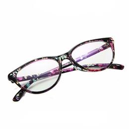ef5935f897b Retro Plain Lens Cat Eye Glasses Frame Brand Designer Women Optical Myopia  Eyewear Frames Clear Lens Eyeglasses Gafas