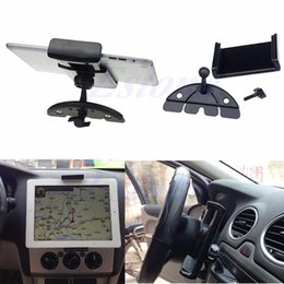 Tablet Cradle Holder Car NZ - Auto Car CD Mount Tablet PC Cradle Holder Stand For iPad 2 3 4 5 Air Galaxy Tab C45