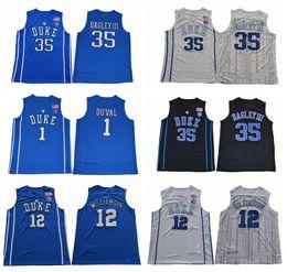 2017 Duke Blue Devils College Basketball Jerseys MENS 1 Trevon Duval 35  Marvin Bagley III 12 Zion Williamson University Stitched Shirts 672e2dd90