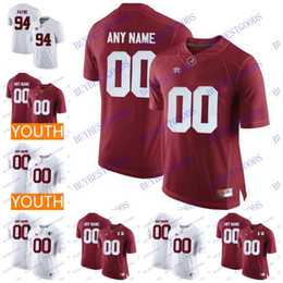 751069e33ff2 Custom Alabama Crimson Tide College Football Any Name Number Personalized  Stitched 13 Tagovailoa Jerseys Men Youth S-3XL