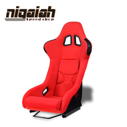 2PCS LOT Universal Drift Racing Bucket Seat Red Blue Black Yellow Sport Car SeatDRIFT