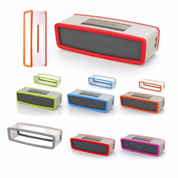 fashion jackets NZ - Fashion Soft Silicone Case Cover For Bose Soundlink Mini 1 2 Bluetooth Speaker 8Colors Protective anti-dust Sleeve Jacket
