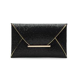 Black envelop online shopping - Fashion Women Evening Bags Party Clutch Bags Purses Female PU Sequined Hasp Envelop Women Small Clutch Handbags Blingbling