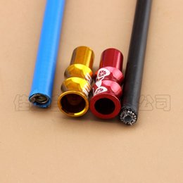 Bicycles special online shopping - Bicycle Variable Speed Brake Pipe Cap Aluminium Alloy Slub Pipes Caps Special Offer Dead Flies Field jd ii