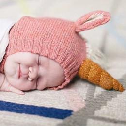 $enCountryForm.capitalKeyWord NZ - INS HOT SALE Cute Baby Girls Unicorn Siwa Beanie Caps Children Boys Knited Beigi Red Pink Watermelon Hats Kids Winter Outdoor Warm Hats C3