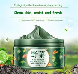 Deep Clean Face Mask Australia - 2018l BIOAQUA Vegetables Mud Mask Face Skin Care Deep Cleaning Acne Blackhead Treatment Hydrating Moisturizing Facial Masks DHL shipping