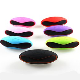 front disk 2019 - Mini X6u Rugby Bluetooth Speaker Hands-free V3.0 Audio Portable Wireless Stereo Speakers MP3 Player Subwoofer U Disk TF