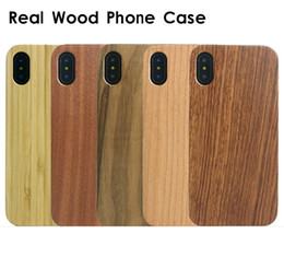 $enCountryForm.capitalKeyWord Australia - Super Quality Blank Wood Cell Phone Cases For iphone X 10 6 6S 7 8 Plus Bamboo + Soft TPU Full Protective Phone Cover Shockproof For Samsung