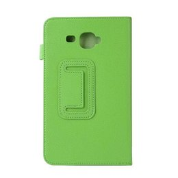 Chinese  New litchi pu Leather case cover For Samsung Galaxy Tab A6 7.0 T280 T285 magnet stand funda Tablet Cases 7inch manufacturers