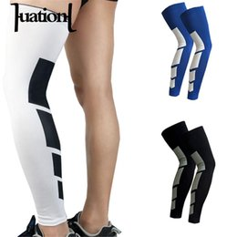mens leggings white 2019 - Huation 1PCS 2018 New Brand Mens Compression Socks Super Elastic Leg Warmers Stretch Happy Socks Male Leggings Sokken di