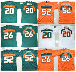 best sneakers ced8a eb843 good miami hurricanes 20 reed green jersey b3967 0fe25