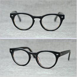 ca78a8515a PS427 Vintage Small Glasses Clear Lenses Round Optical Spectacle Eyeglasses  Men Women Eyewear Frames Brand Myopia Wiht box
