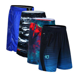 Discount compression short soccer - Men Sport Gym QUICK-DRY Workout Compression Board Shorts For Male Basketball Soccer Exercise Running Slim Fitness Yoga S