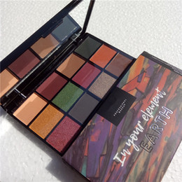 $enCountryForm.capitalKeyWord NZ - Wholesale NYX 12 colors eyeshadow palette in your element fire earth metal cosmetics shimmer beauty matte eye shadow by DHL