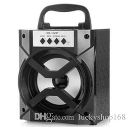 $enCountryForm.capitalKeyWord NZ - 50X MS-134BT Bluetooth Speakers Portable Subwoofers TF Card FM Radio Speaker Sound Box Outdoor Loud Speaker for Cellphones DHL