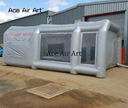 spray work NZ - Various colors Inflatable Spray Booth,mobile work station car painting room