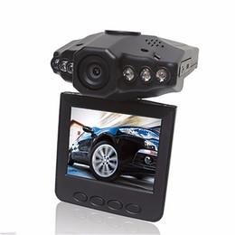 2.5 inç Araba Çizgi Kameralar Araba DVR Kaydedici Kamera Sistemi Kara Kutu H198 Gece Sürümü Video Kaydedici Dash Kamera