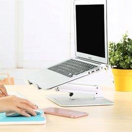 регулируемая по высоте 20 кг алюминиевый ноутбук стол стенд планшет кронштейн Складной монитор крепление компактный коврик стол Поддержка светодиодный кронштейн