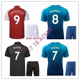 419df5995 Thailand 2017 2018 premier football shirts Home kit Soccer Jerseys OZIL  jersey ALEXLS jersey WILSHERE KOLASINAC 17 18 football shirt