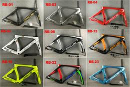 30 Farben 2020 Carbon-Straßenrahmen Cipollini RB1K THE ONE Anthrazit Glänzendes RB1000 T1100 Kohlefaser Rennrad Fahrradrahmensatz a1 im Angebot