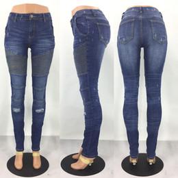 $enCountryForm.capitalKeyWord Canada - New Motorcycle Jeans High Waist Casual Trousers Skinny Motocross Off-Road Women Denim Pants Stretch Slim Moto Jeans For Women
