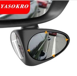 Discount blind spot mirrors - 1 Piece Car Rear View Mirror Rotatable Adjustable Blind Spot Mirror Convex Wide Angle Mirror front wheel Car2 Colors