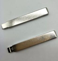 Chevy Wholesale Australia - 10Pcs lot Best Metal Blank Uncut Flip Remote Key Blade Type NO.75 for Geely Panda