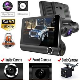 $enCountryForm.capitalKeyWord Australia - 3 Lens 1080P HD 170 Angle Triple lens Car DVR Dash Cam G-sensor Recorder and Rearview Camera Three Way Camera Night vision Cam