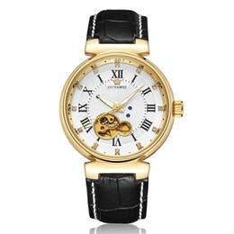 $enCountryForm.capitalKeyWord NZ - OUYAWEI Men Automatic Skeleton Watch Luxury Skeleton Automatic Mechanical Watch Leather Strap Watch Montre Homme Wristwatch OYW1413