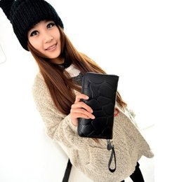 $enCountryForm.capitalKeyWord NZ - New fashion Women's Purse Fashion Women Stone Road Wallet Coin Bag Purse Phone Bag Female Drop Ship Day Clutches Girl Billetera Wallets