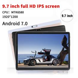 Pc Ram Cards Australia - NERLMIAY 9.7 inch Original Tablet PC Android 7.0 Octa Core 4GB RAM 64GB ROM Dual SIM Cards WiFi Bluetooth Smart Tablets