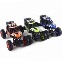 Carga inalámbrica Control eléctrico juguetes para vehículos todo terreno Coche de cuatro vías monstruo pie vehículos todo terreno fuera de la carretera control remoto juguete de juguete coche de juguete