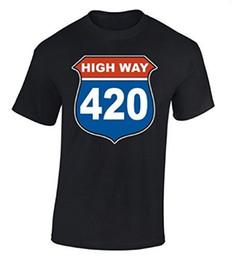 $enCountryForm.capitalKeyWord UK - New Summer casual Mens Tees High Way 420 T-shirt Smoker Shirt Comfort Soft Concert Tees