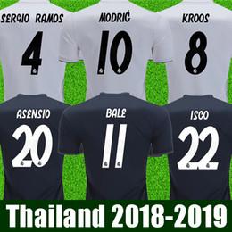 44437ce801b Thai aaa quality Camisa Real madrid soccer jerseys 2019 ISCO Asensio Jersey  18 19 Sergio Ramos Modric Bale Benzema football shirt maillot