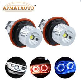 Discount angel eyes bulbs - 2Pcs Error Free LED Angel Eyes Marker Lights Bulbs For  E39 E53 E60 E61 E63 E64 E65 E66 E87 525i 530i xi 545i M5