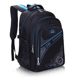 $enCountryForm.capitalKeyWord NZ - Children School Bags For Boys Thickened back Backpack Protect the spine Large capacity Waterproof Kids schoolbags mochila 2 size Y18110107
