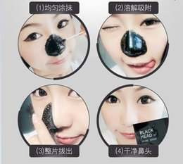 remove black heads nose NZ - PILATEN Suction Black Mask Face Care Mask Cleaning Tearing Style Pore Strip Deep Cleansing Nose Acne Blackhead Facial Mask Remove Black Head