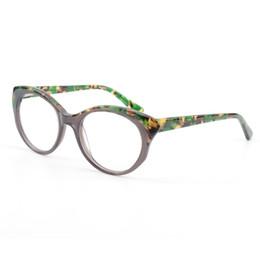 9b99b0f436 CARDINAL DIRECTION Vintage Retro Women Cat Eye Myopia Spectacle Frame  Stylish Design Acetate Optical Eyeglasses Frames