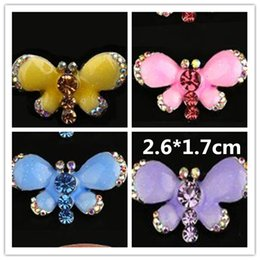 Dog Grooming Hair Clip Australia - 2018 New Dog Grooming Pet Clip Hair Accessories Fade Dripping Frog Clips Dripping Butterfly Hair Clip Trinket Ornaments 6pcs lot