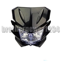 honda headlights NZ - Motorcycle Headlight Street fighter dirt bike Universal 12V Honda Yamaha Suzuki Kawasaki