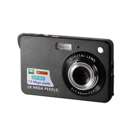 battery mega UK - K09 Ultra-thin Card Digital Camera 18 Mega Pixels 2.7 Inch TFT LCD Screen CMOS Children Kids Gift Camcorder Sports Mini Camera