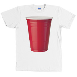 1982455c9 HUGE Red Solo Plastic Cup T Shirt Funny Party College Tee NEW WITH TAGS Cool  xxxtentacion tshirt Brand shirts jeans Print