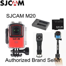 Discount waterproof wifi watch - Newtest SJCAM M20 Wifi Gyro Sport Action Camera HD 2160P 16MP 4K Waterproof DV Bluetooth watch self timer lever remote c