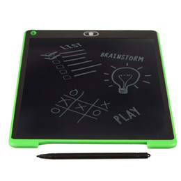 Home Office Electronics NZ - Wholesale- Portable Writing Board 8.5 12 Inch LCD Digital Drawing Handwriting Pads Gift ABS Electronic Tablet Board For Home Office Use