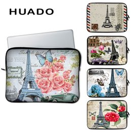 """Hp Laptops China Australia - Eiffel tower pattern notebook bag 15"""" PC accessories 15.6"""" laptop sleeve case cover for macbook air hp dell asus"""